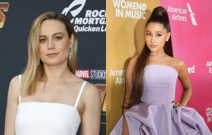 Brie Larson covers Ariana Grande's God is a Woman