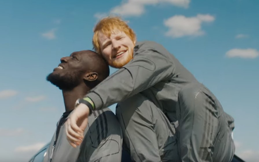 Watch Stormzy and Ed Sheeran race around in a Rolls Royce in new video for 'Take Me Back To London' remix