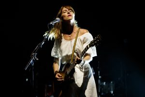 Feist performs on day 4 of End Of The Road Festival at Larmer Tree Gardens on September 2, 2018
