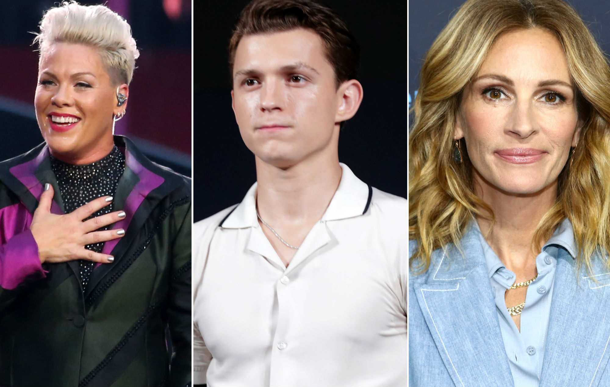 Pink, Tom Holland and Julia Roberts among celebrities duped by Instagram hoax
