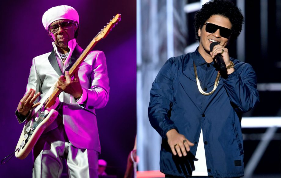 Nile Rodgers reveals Bruno Mars told him how to make their collab a hit