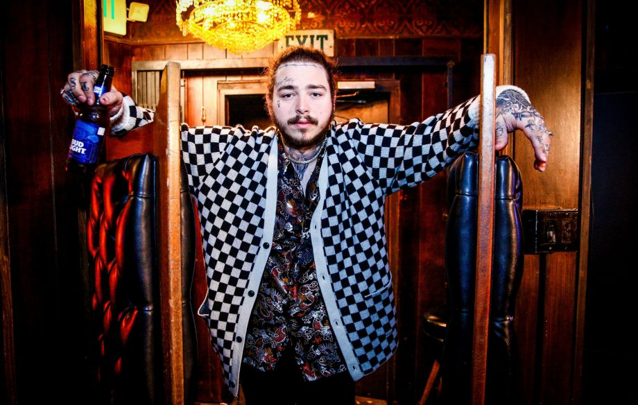 Watch Post Malone tease his new album and perform an Irish folk song on 'The Tonight Show Starring Jimmy Fallon'
