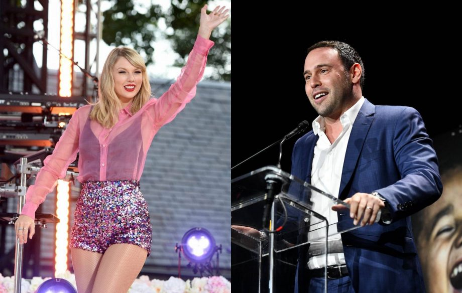 Scooter Braun congratulates Taylor Swift on new album 'Lover'