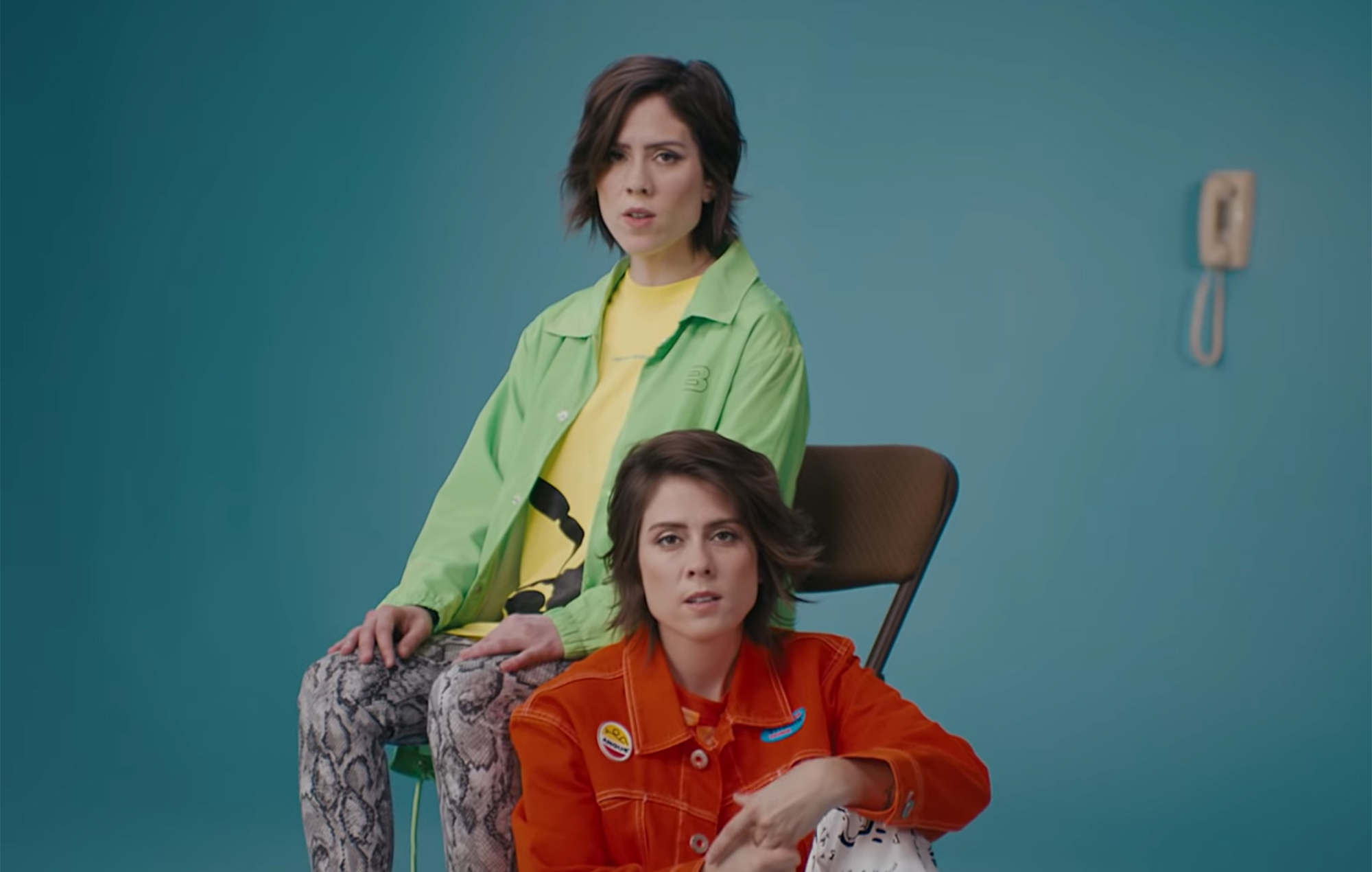 Watch Tegan and Sara perform 'I'll Be Back Someday' and discuss high school LSD habit