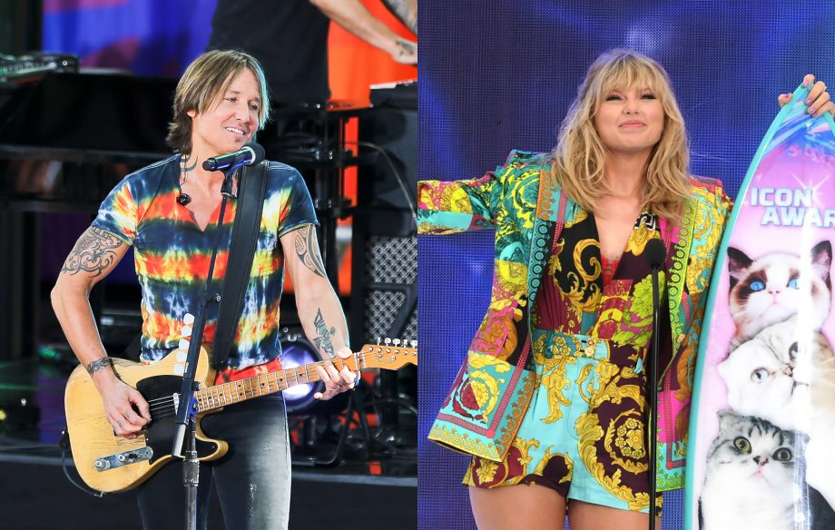 Watch Keith Urban put his own spin on Taylor Swift's 'Lover'