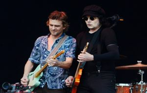 Brendan Benson and Jack White of The Raconteurs