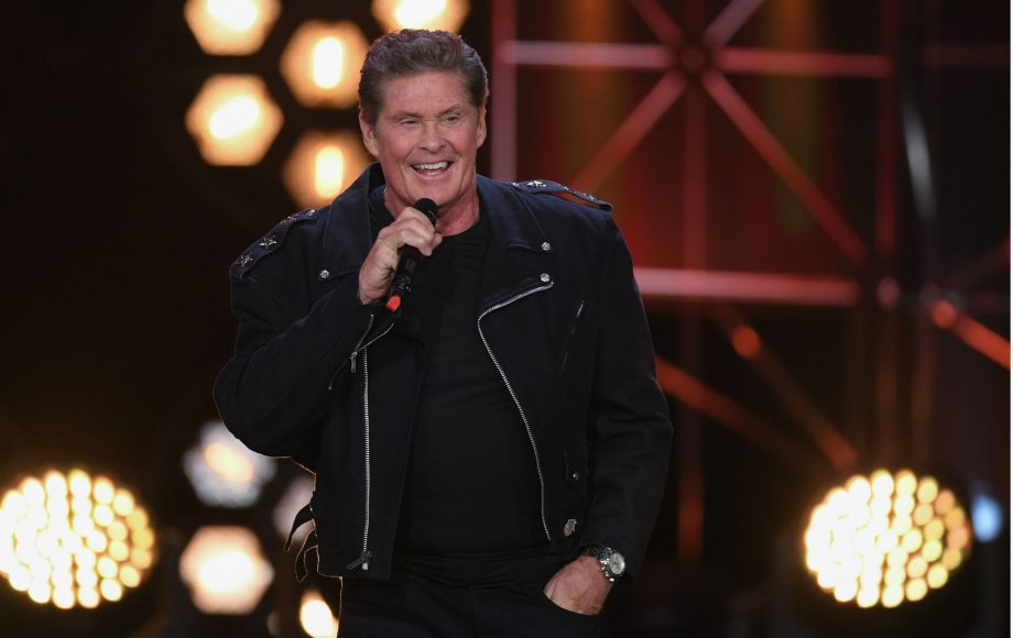 Watch David Hasselhoff team up with The Stooges' James Williamson in new video, 'Open Your Eyes'