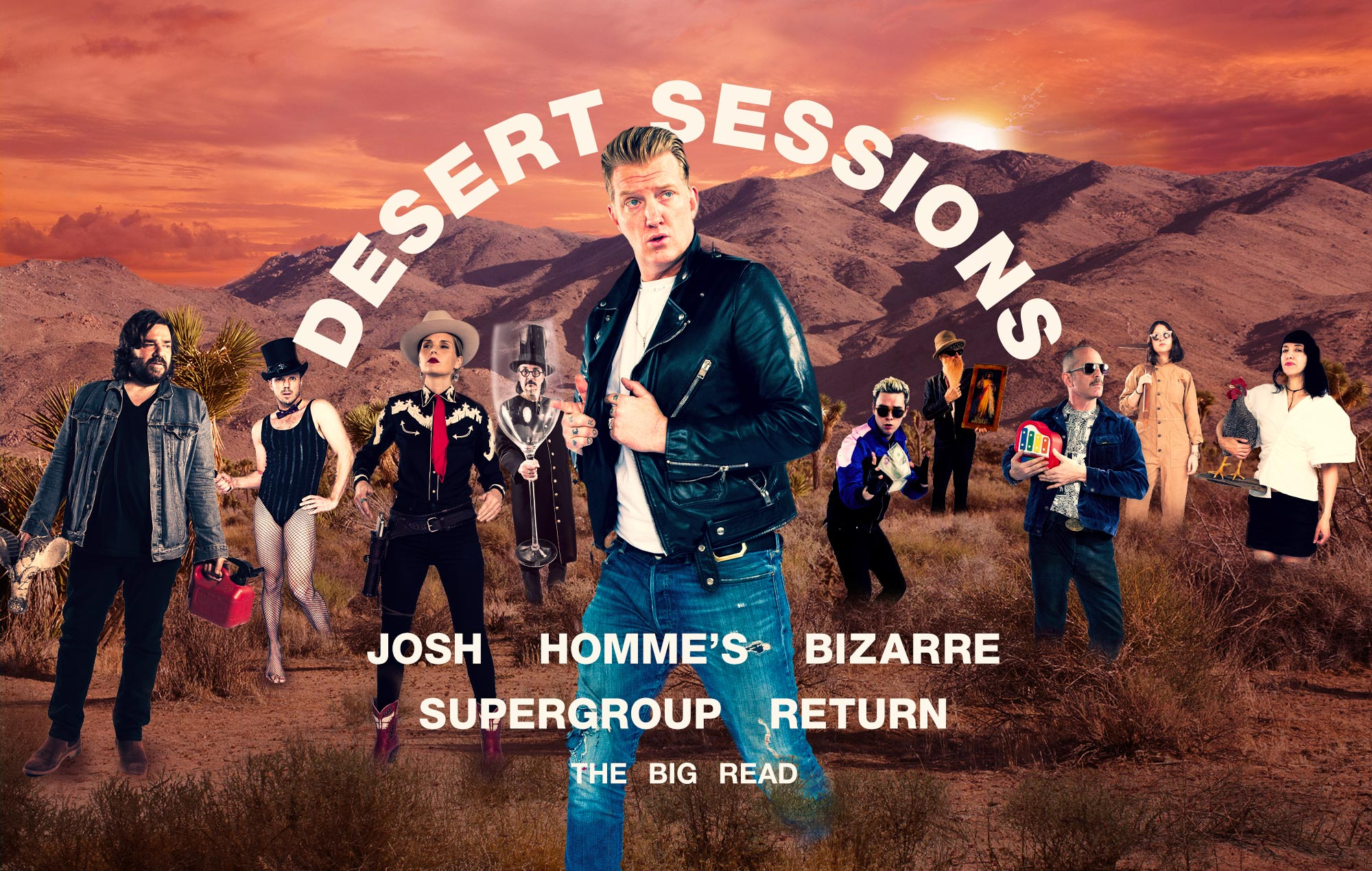 "Josh Homme interview: ""Desert Sessions is like being a tour guide into the bizarre"""