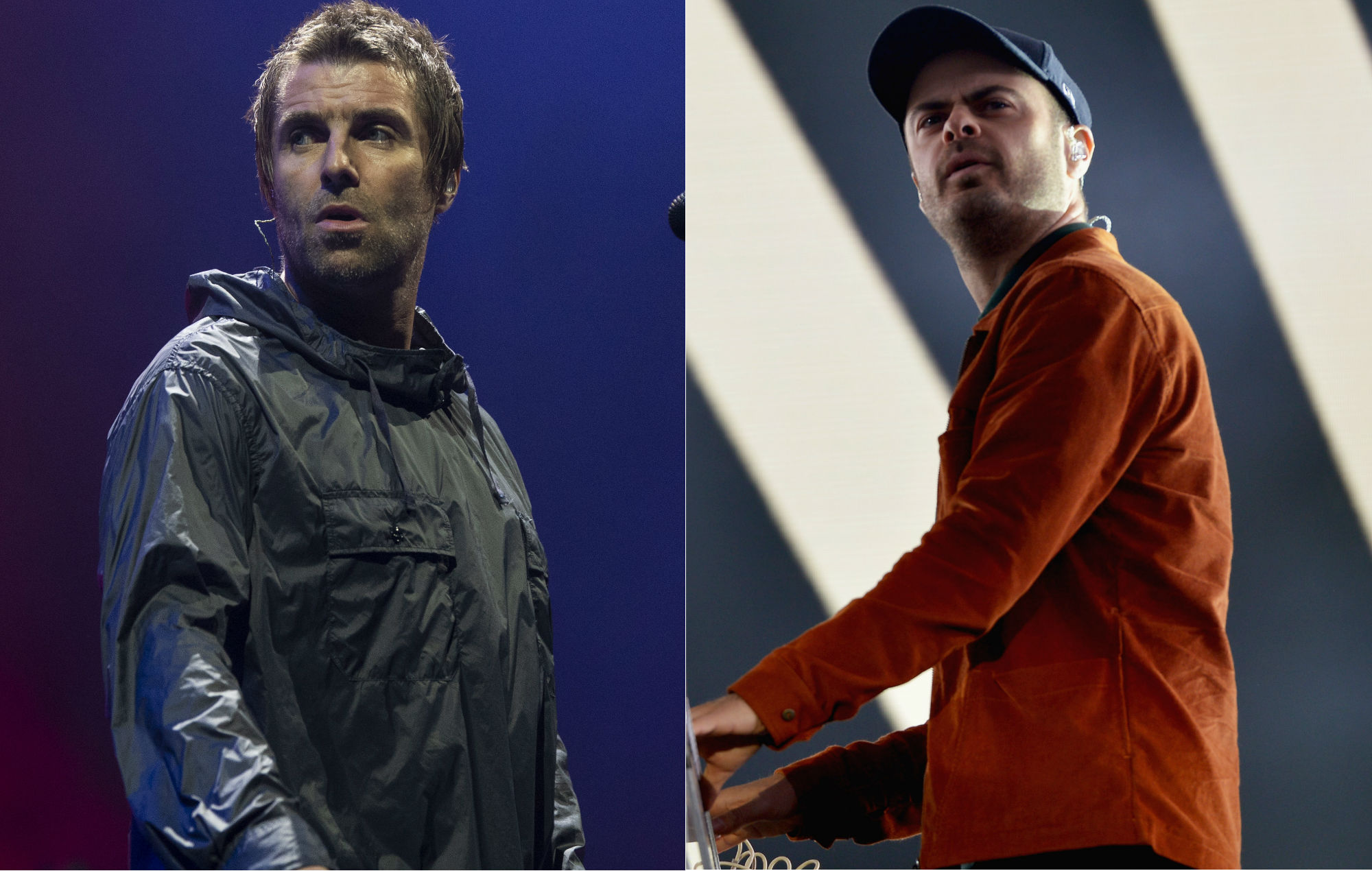 """Liam Gallagher calls out """"pissflap"""" Kaiser Chiefs' keyboardist Peanut over stage safety row"""