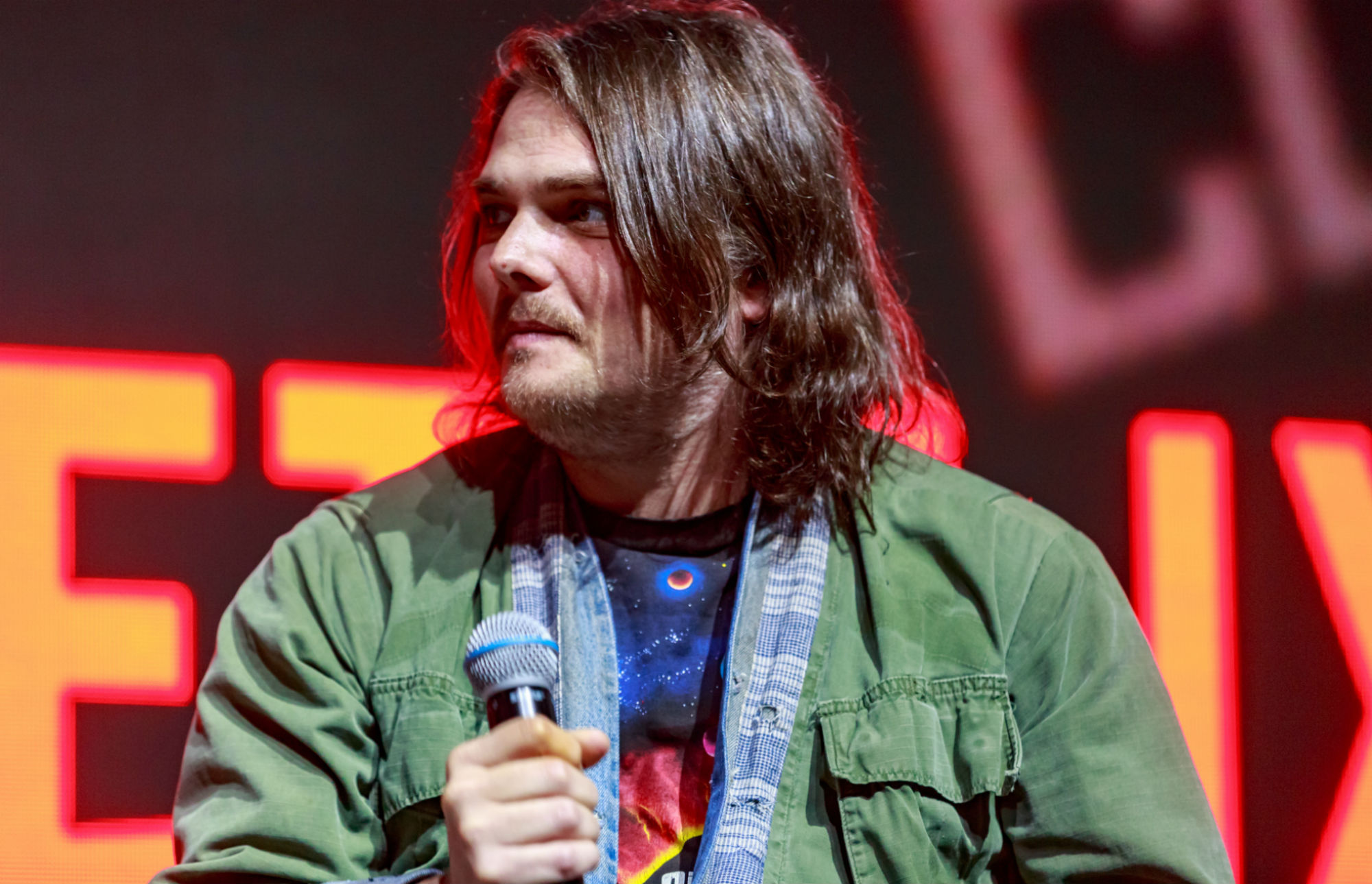Gerard Way has co-authored a new 'Umbrella Academy' Christmas spin off comic