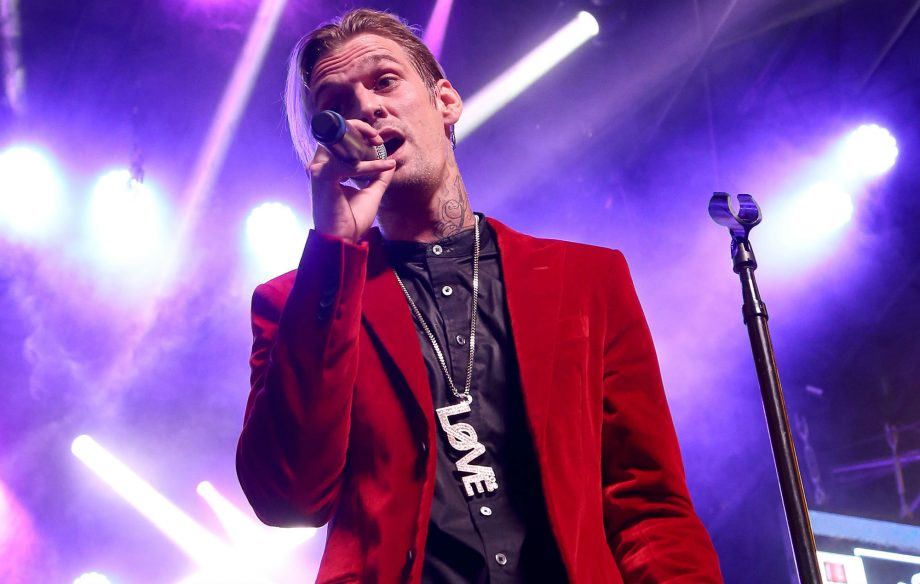 Aaron Carter opens up about battle with schizophrenia, manic depression and anxiety