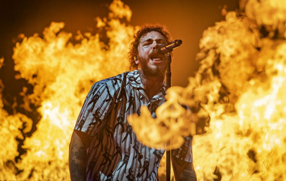 Listen to Post Malone's new album 'Hollywood's Bleeding'