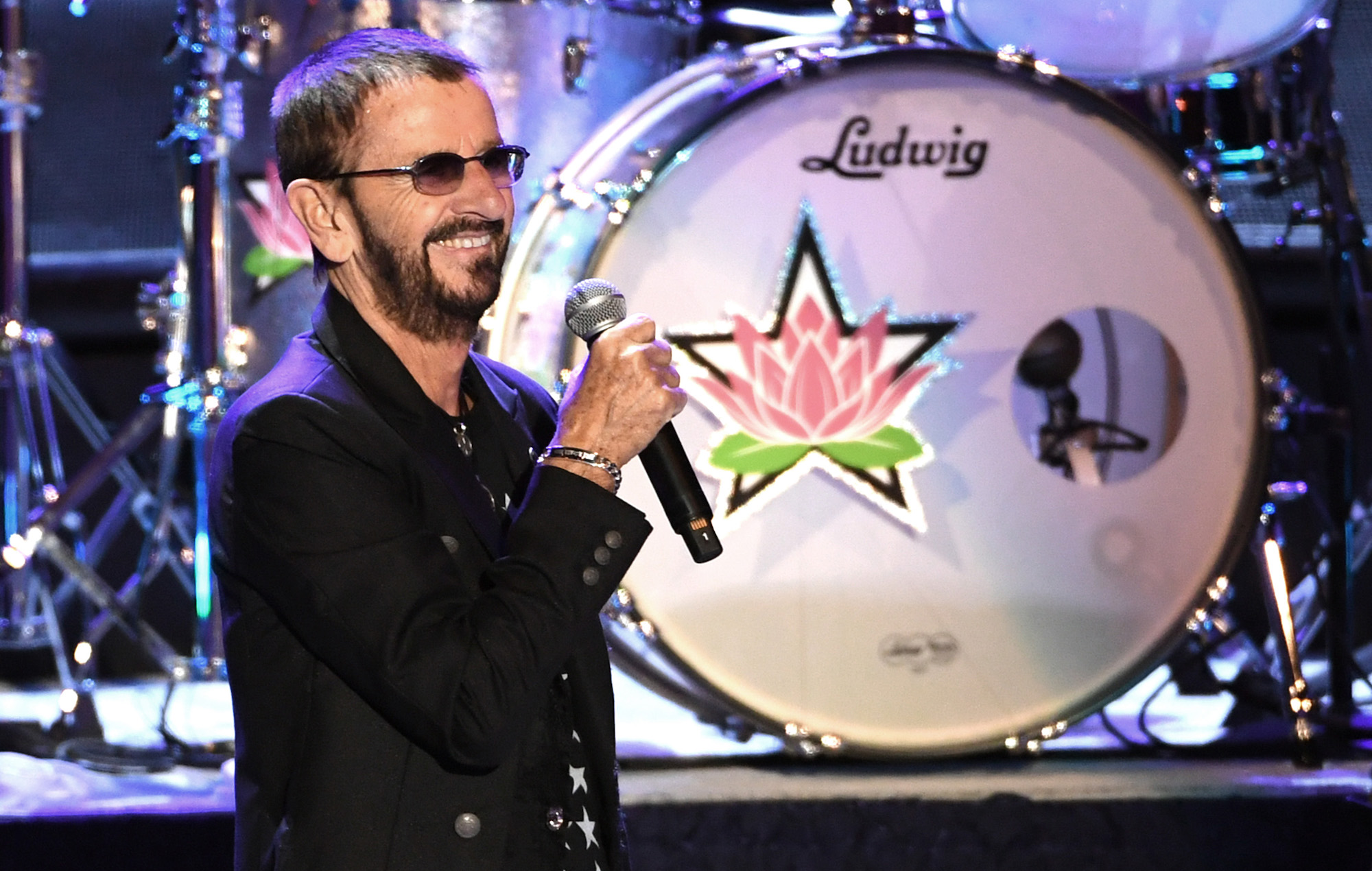 Watch Ringo Starr play 'Yellow Submarine' on classroom instruments with Fallon and The Roots