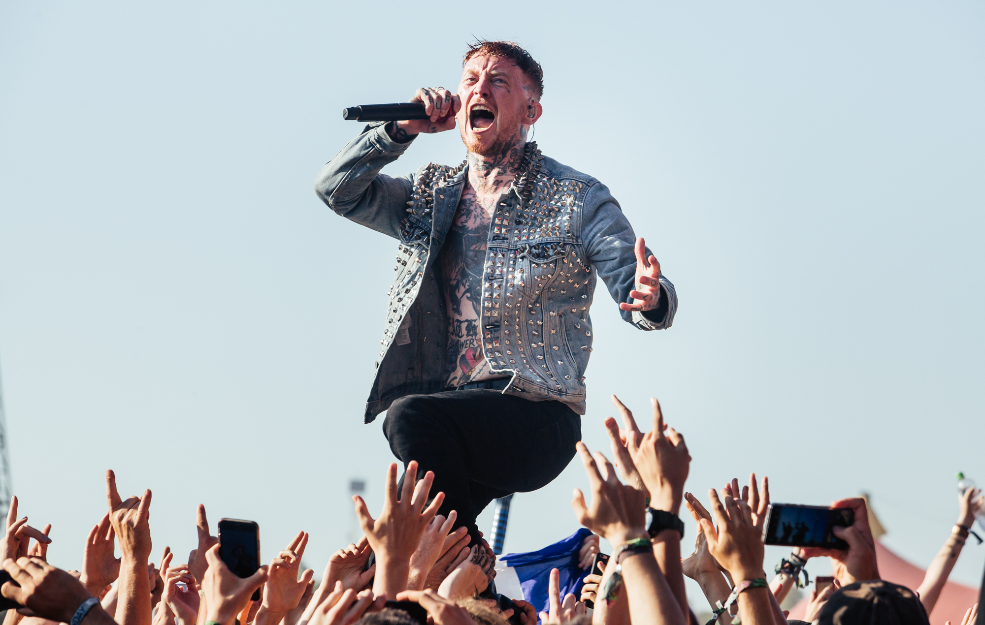 """Frank Carter: """"Rock gigs have been dominated by men for years – all bands need to work to empower women"""""""
