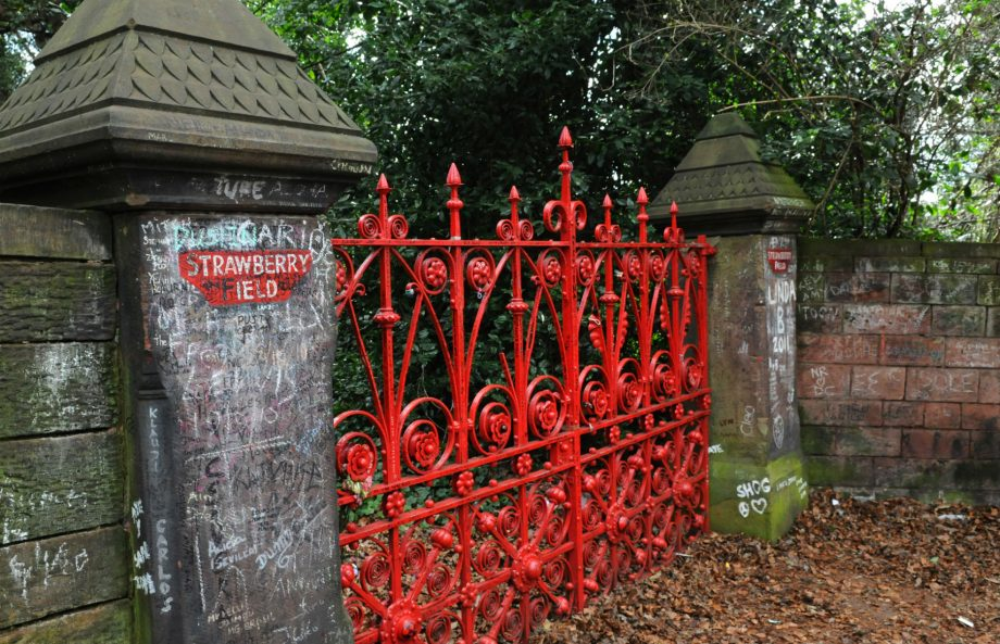 The Beatles' Strawberry Fields has opened as a tourist attraction