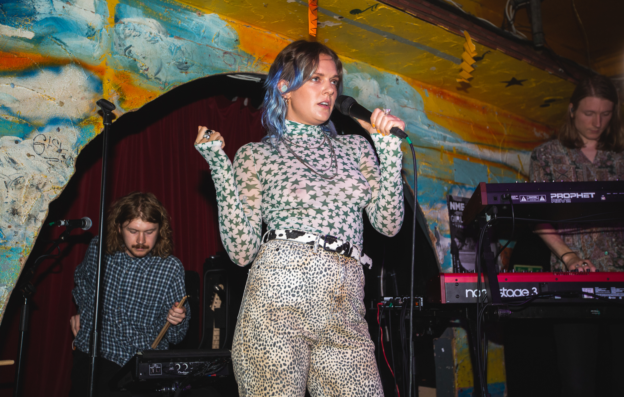 Tove Lo debuts new material at tiny NME Girls To The Front