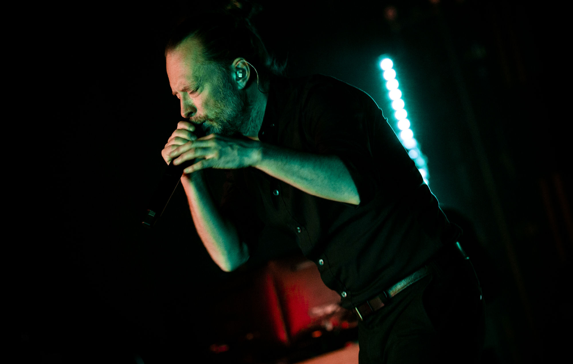 Watch Thom Yorke perform haunting new ballad 'Daily Battles' on 'Colbert'