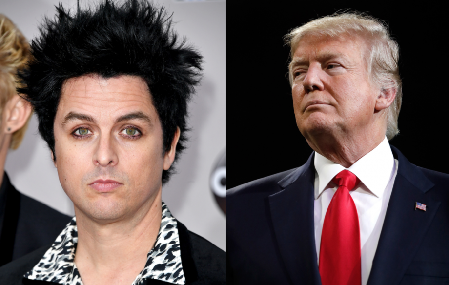 """Billie Joe Armstrong says Donald Trump """"gives me diarrhea"""", explains why Green Day won't reference him on new album"""