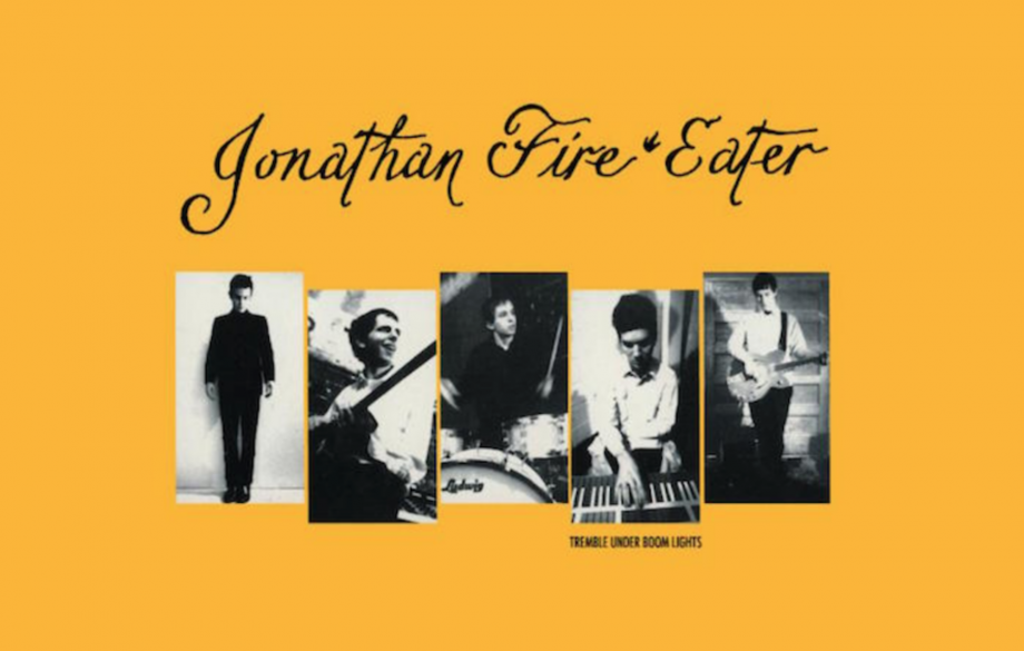 Jonathan Fire*Eater's 'Tremble Under Boom Lights' EP is getting a reissue