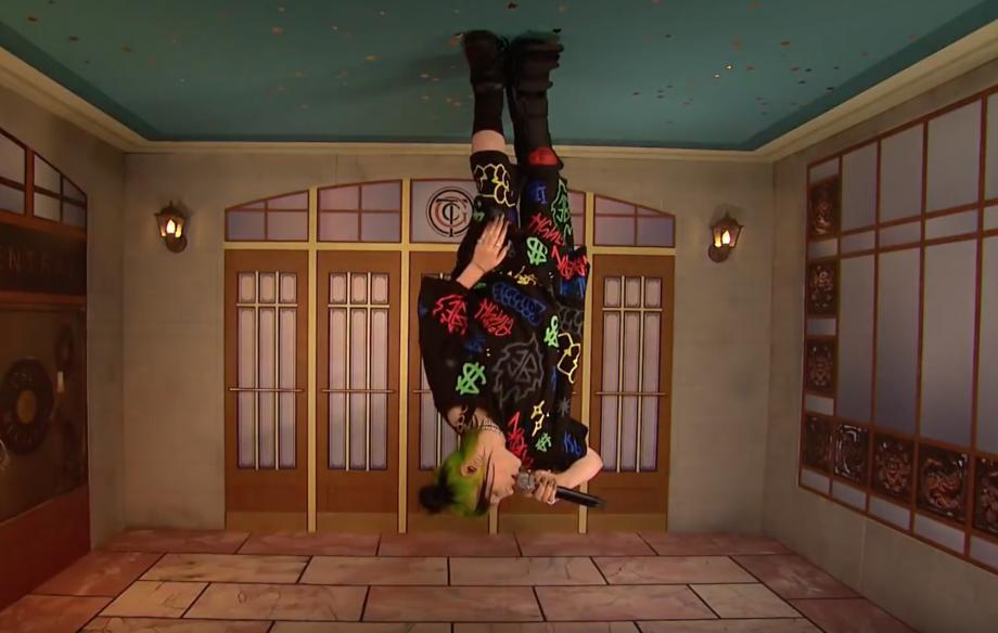 Watch Billie Eilish turn everything upside down for her 'SNL' debut