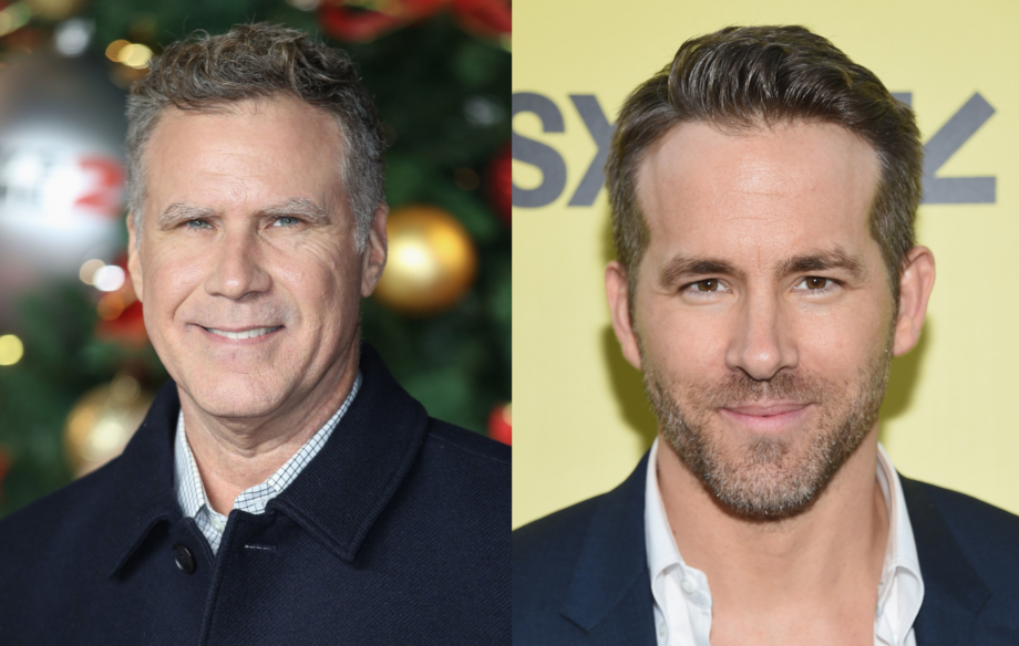 A Christmas Star.Will Ferrell And Ryan Reynolds Set To Star In Musical