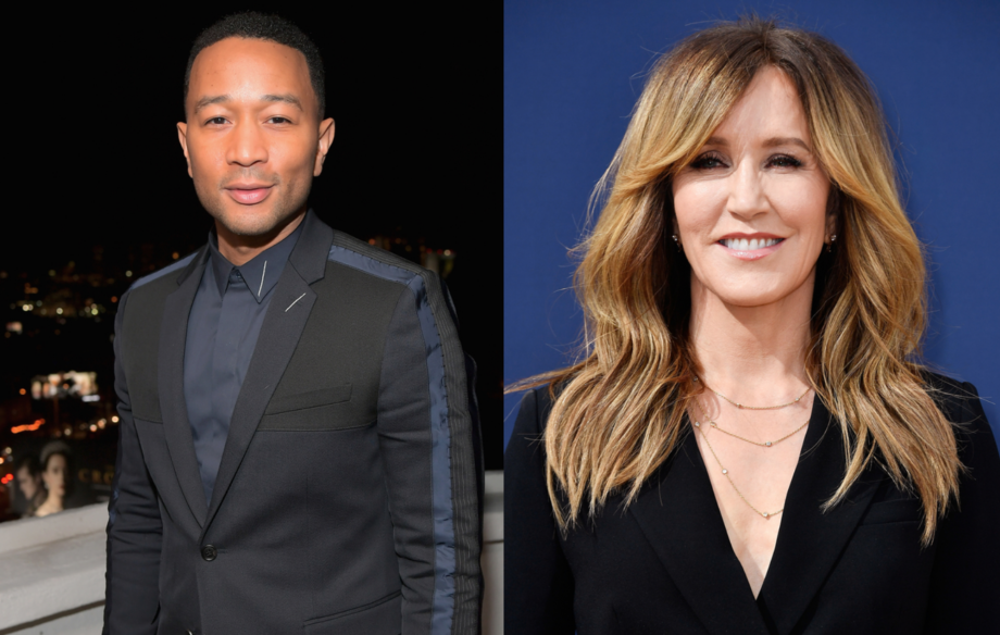 """John Legend hits out at 14-day prison sentence handed to Felicity Huffman: """"Prisons and jails are not the answer"""""""
