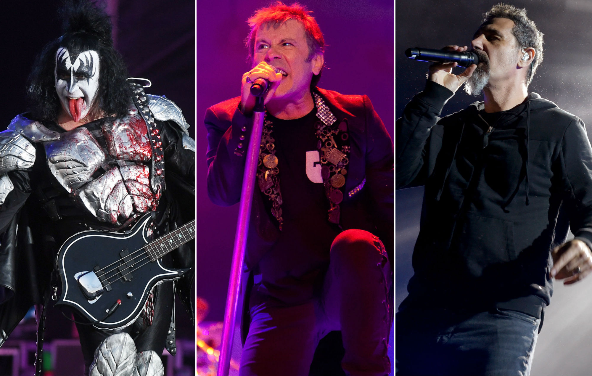 KISS, Iron Maiden and System Of A Down to headline Download Festival 2020