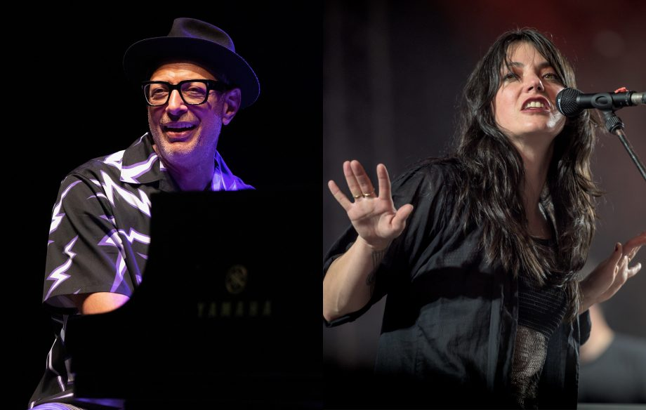 Hear Jeff Goldblum and Sharon Van Etten's smoky new song, 'Let's Face The Music And Dance'