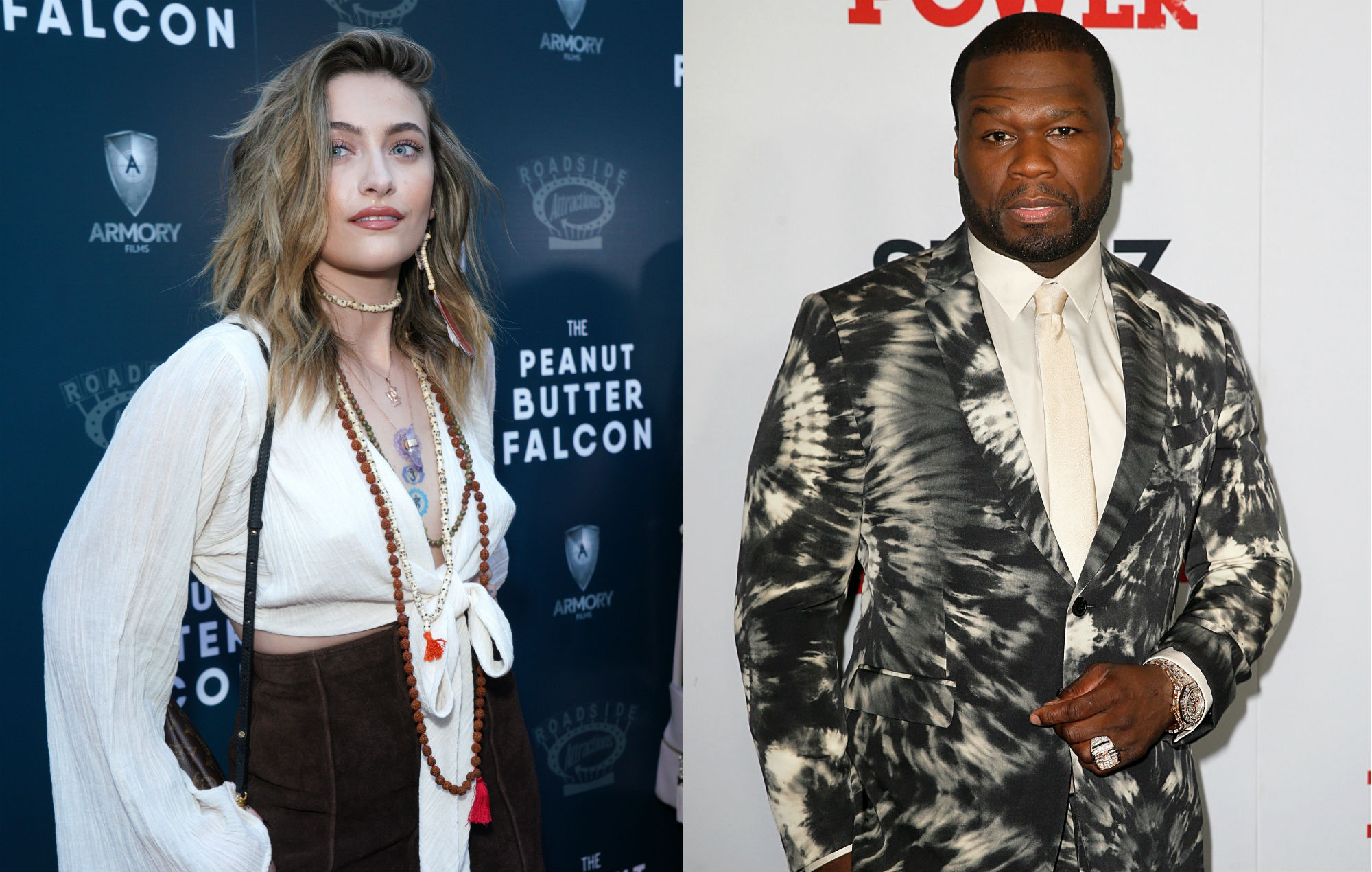 Paris Jackson hits back at 50 Cent over his Chris Brown and