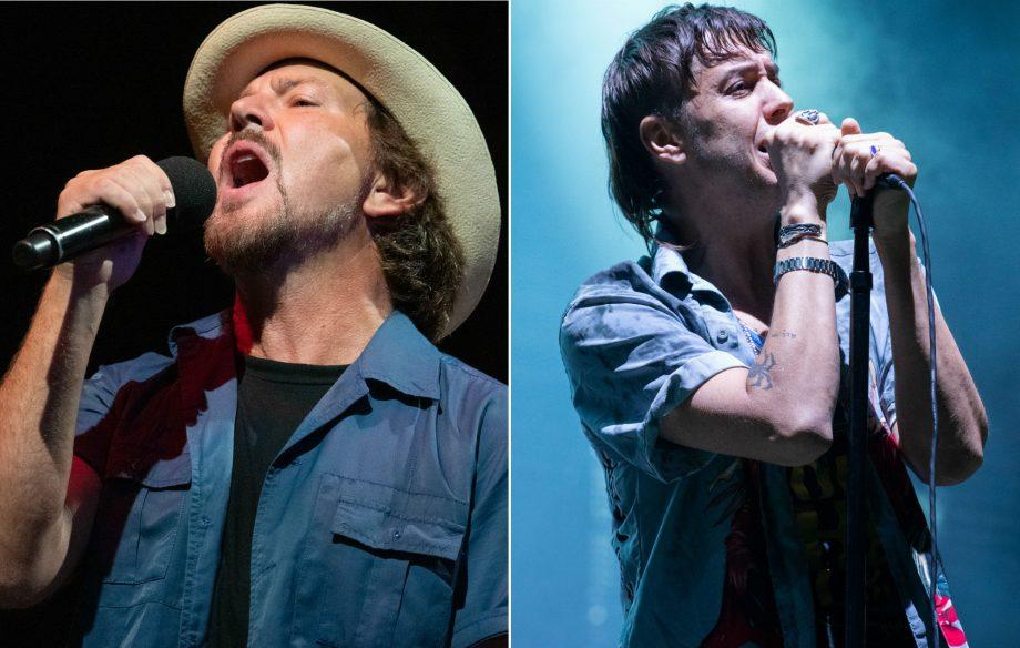 Watch Eddie Vedder Join The Strokes To Perform Juicebox