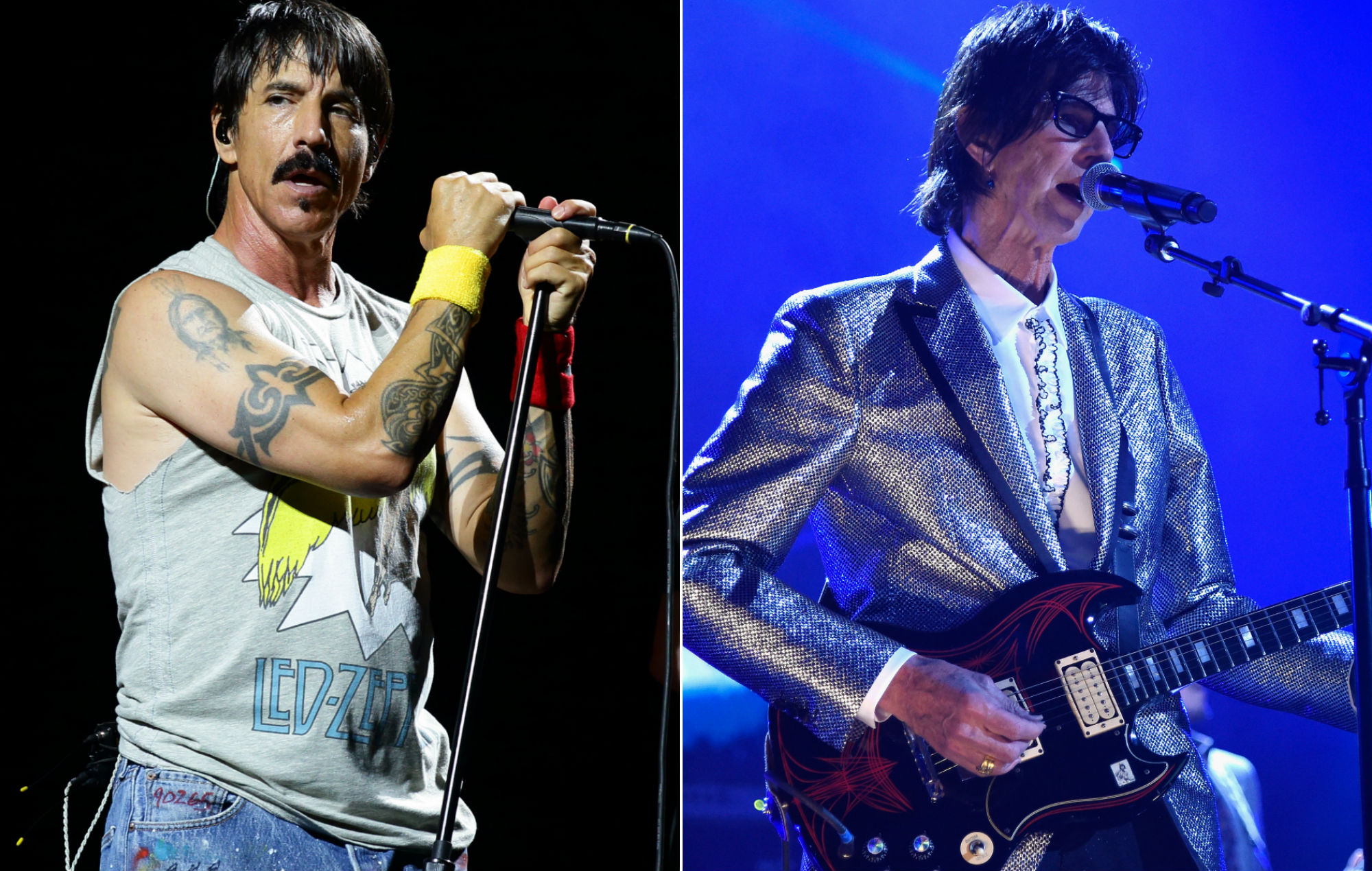 Watch Red Hot Chili Peppers cover The Cars' 'Just What I Needed' in tribute to Ric Ocasek