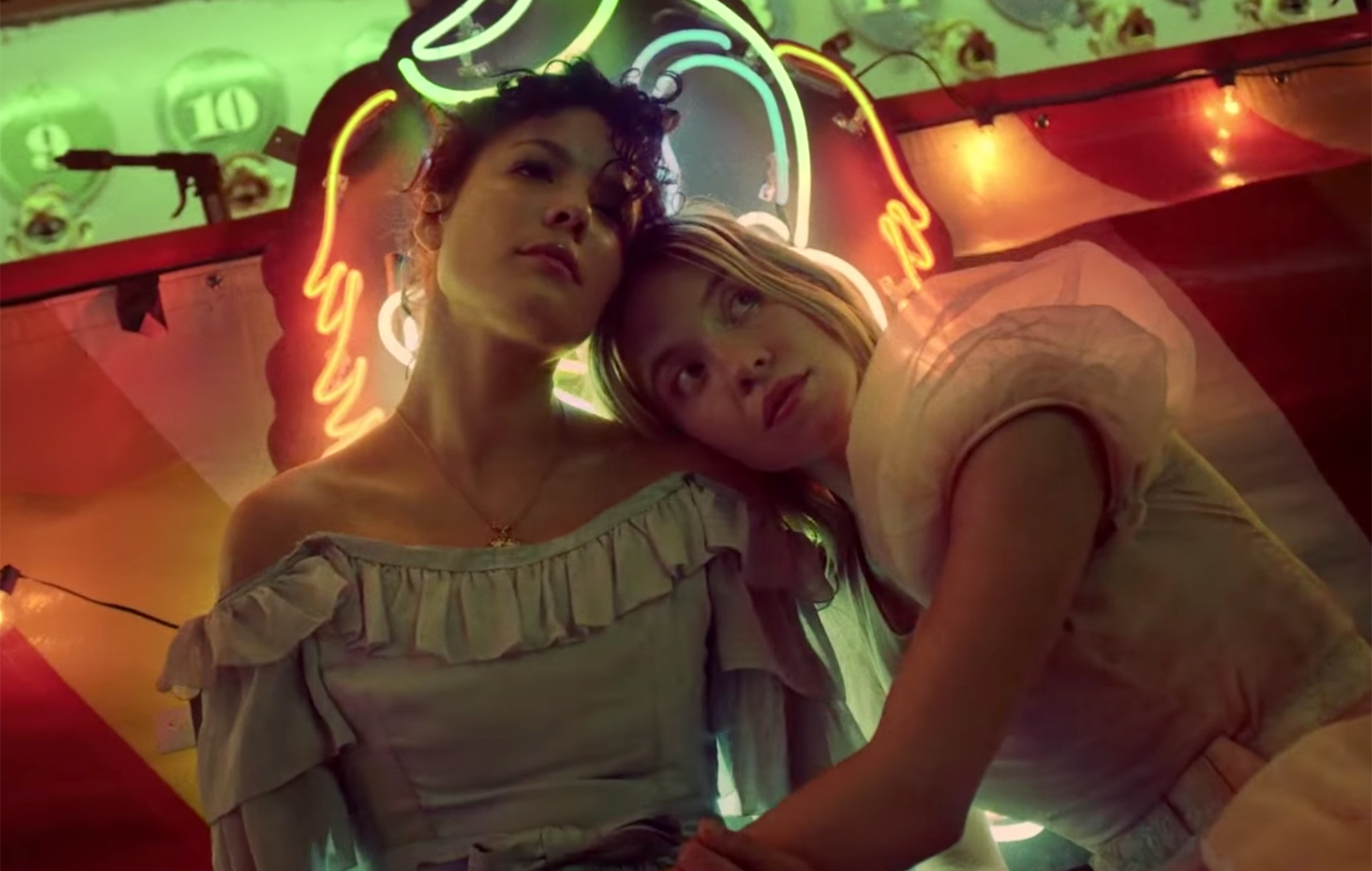 Halsey heads to the carnival with Euphoria star Sydney Sweeney in Graveyard music video
