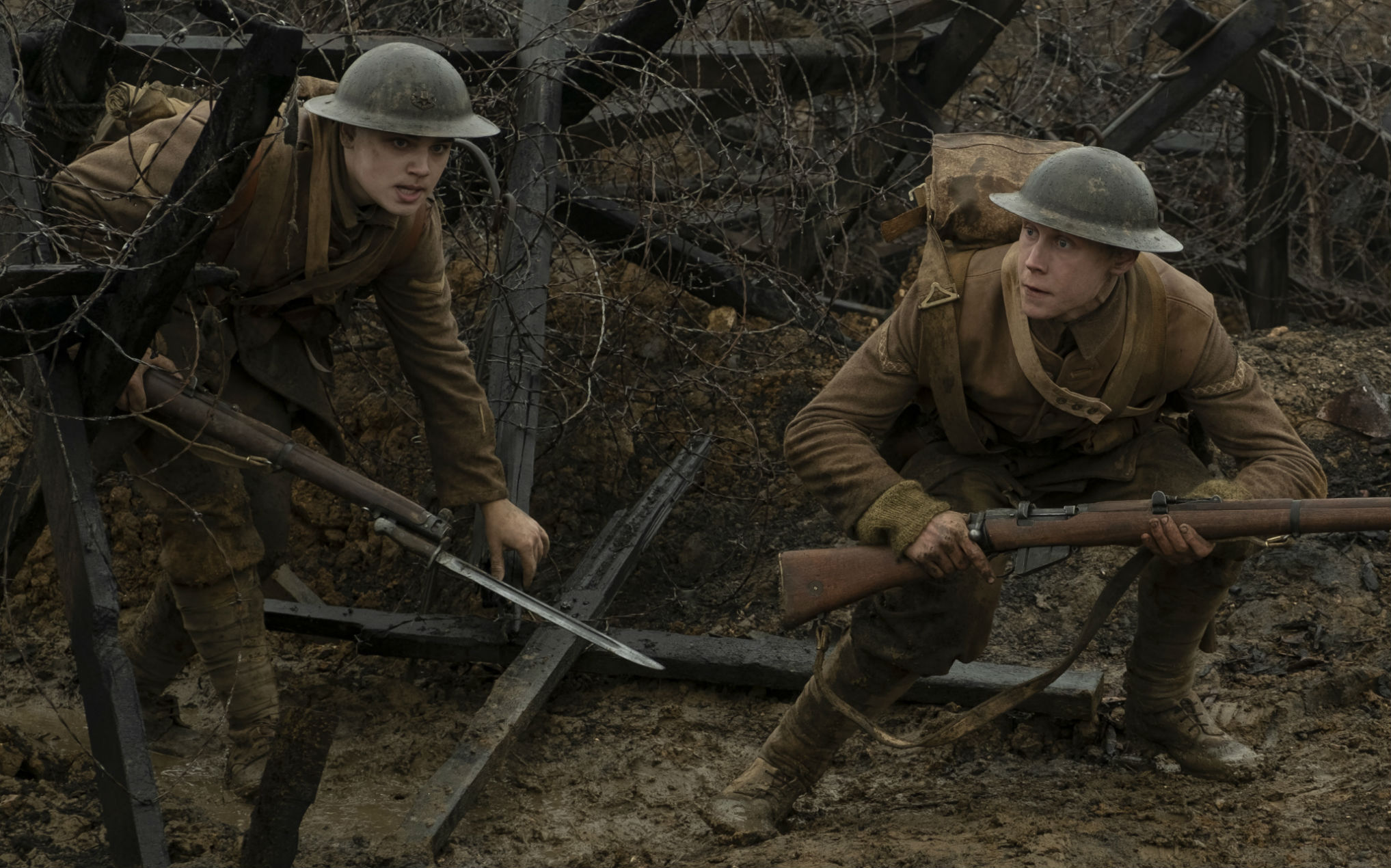 """'1917' gets huge praise in first reactions: """"The best war film since 'Saving Private Ryan'"""""""