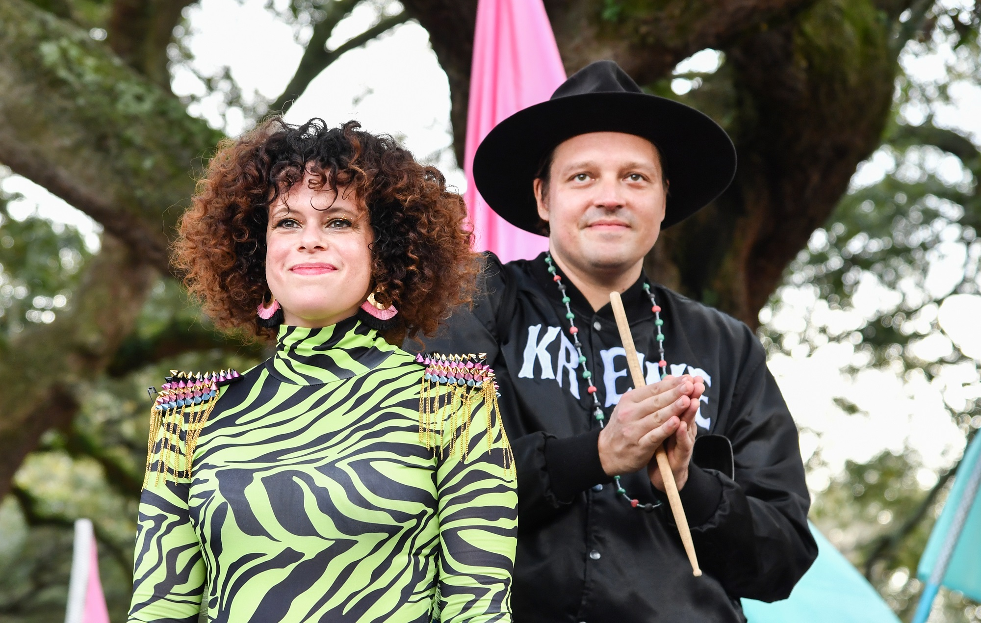 Watch Arcade Fire team up with the Preservation Hall Jazz Band for reworking of Mardi Gras classic 'Iko Iko'