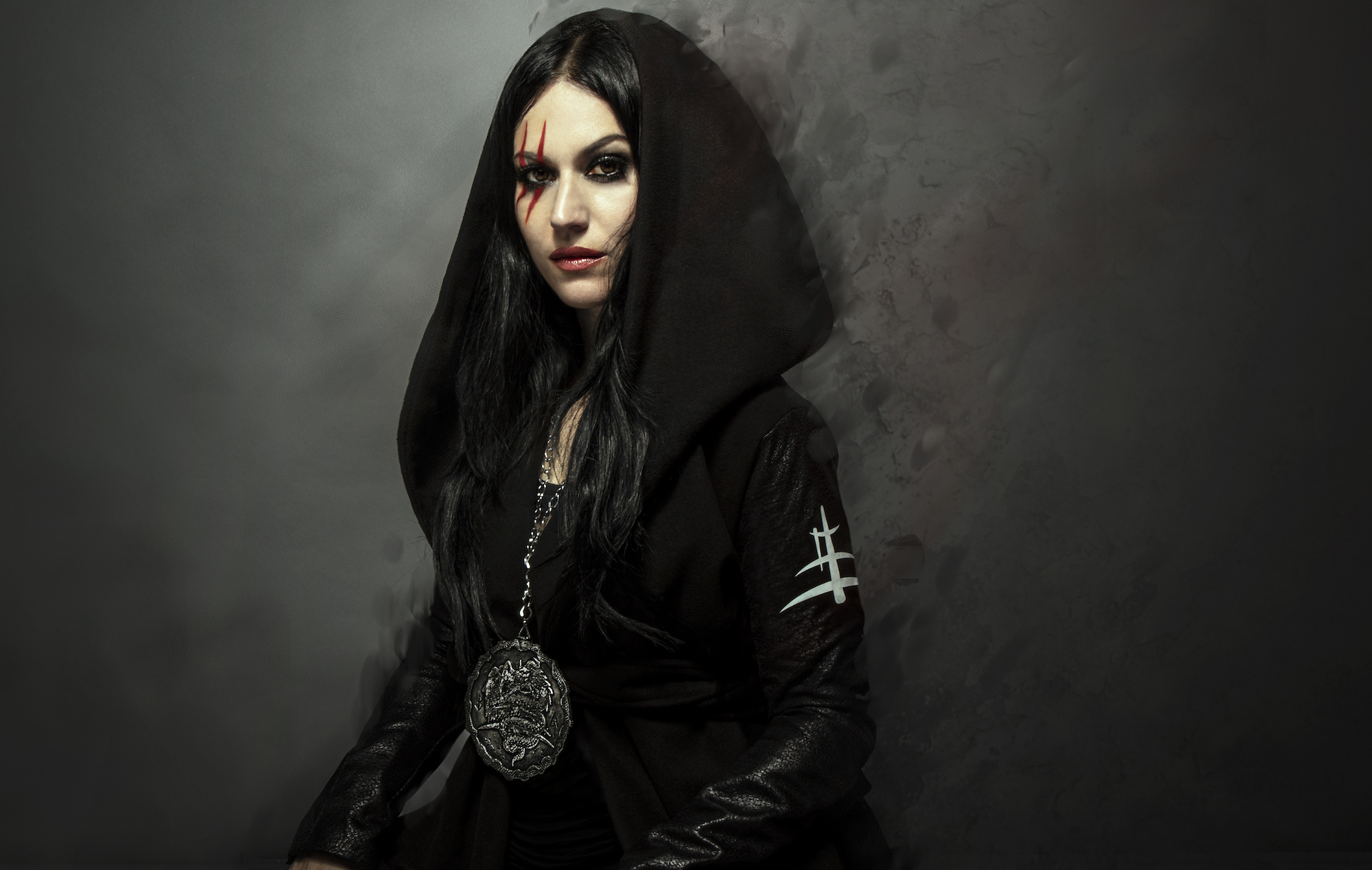 """Lacuna Coil's Cristina Scabbia wants you to """"lay down on your bed, close your eyes and come on a journey with us"""""""