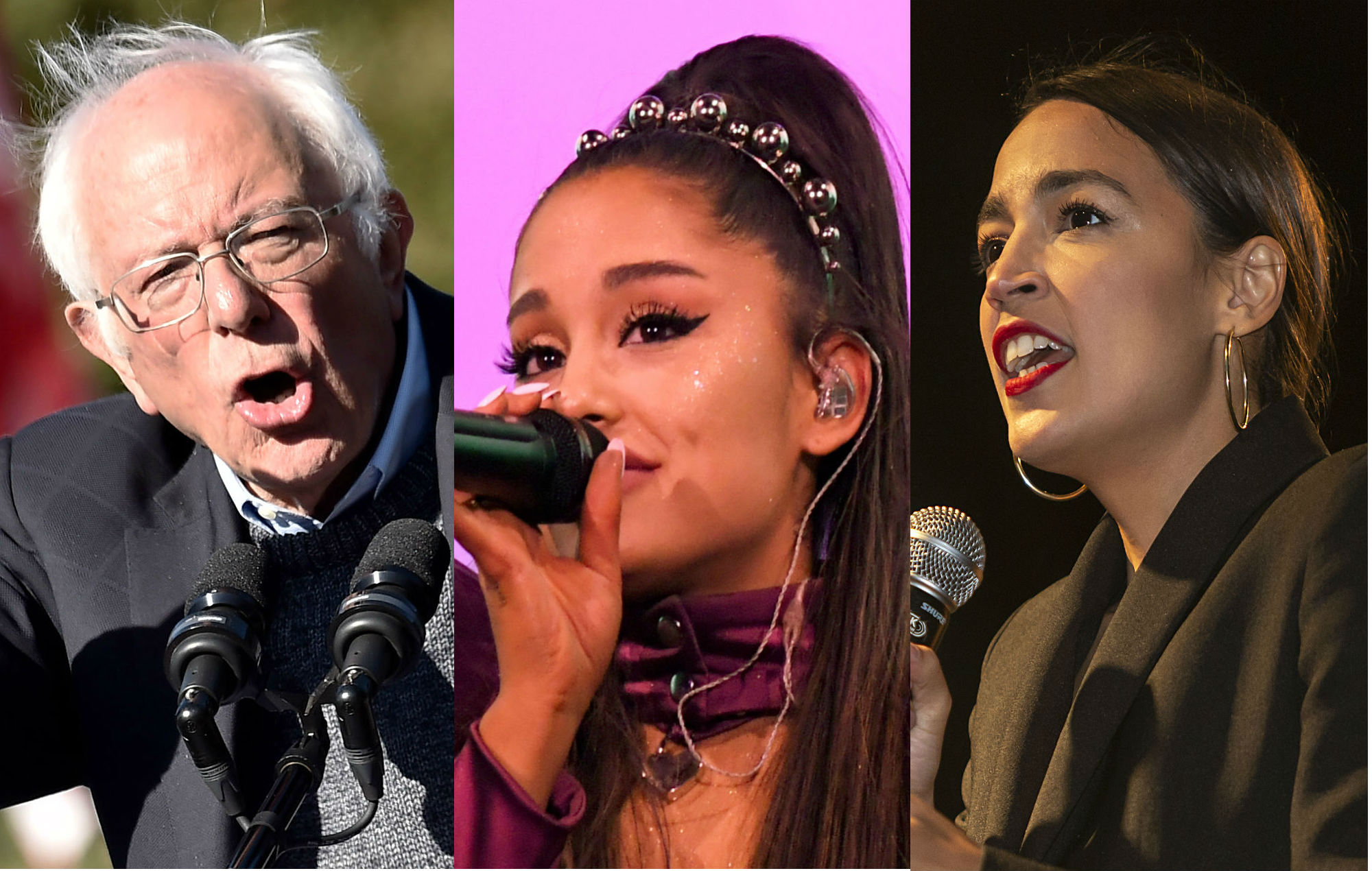 """""""Be Alright: Pass a New Green Deal!"""": Ariana Grande tweet picked up by Alexandria Ocasio-Cortez and Bernie Sanders"""