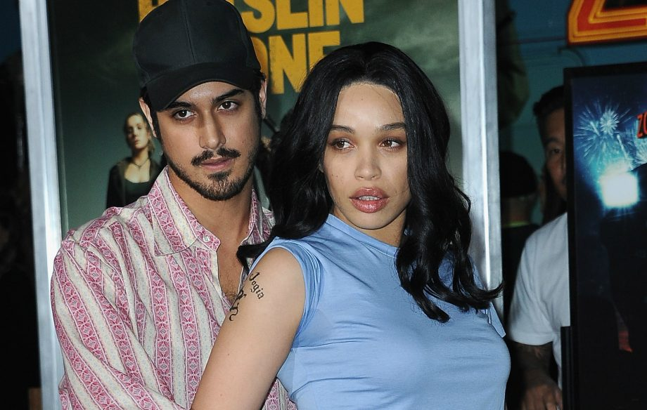 """'Zombieland 2""""s Avan Jogia and girlfriend Cleopatra Coleman channel Angelina Jolie and Billy Bob Thornton at film's premiere"""