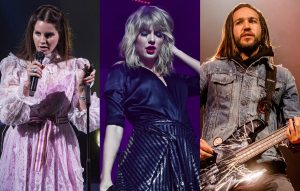 Taylor Swift says Lana Del Rey and Fall Out Boy's Pete Wentz are her favourite lyricists
