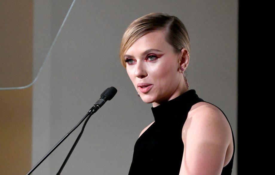 "Scarlett Johansson says she is ""pushing"" for an all-female Marvel movie"