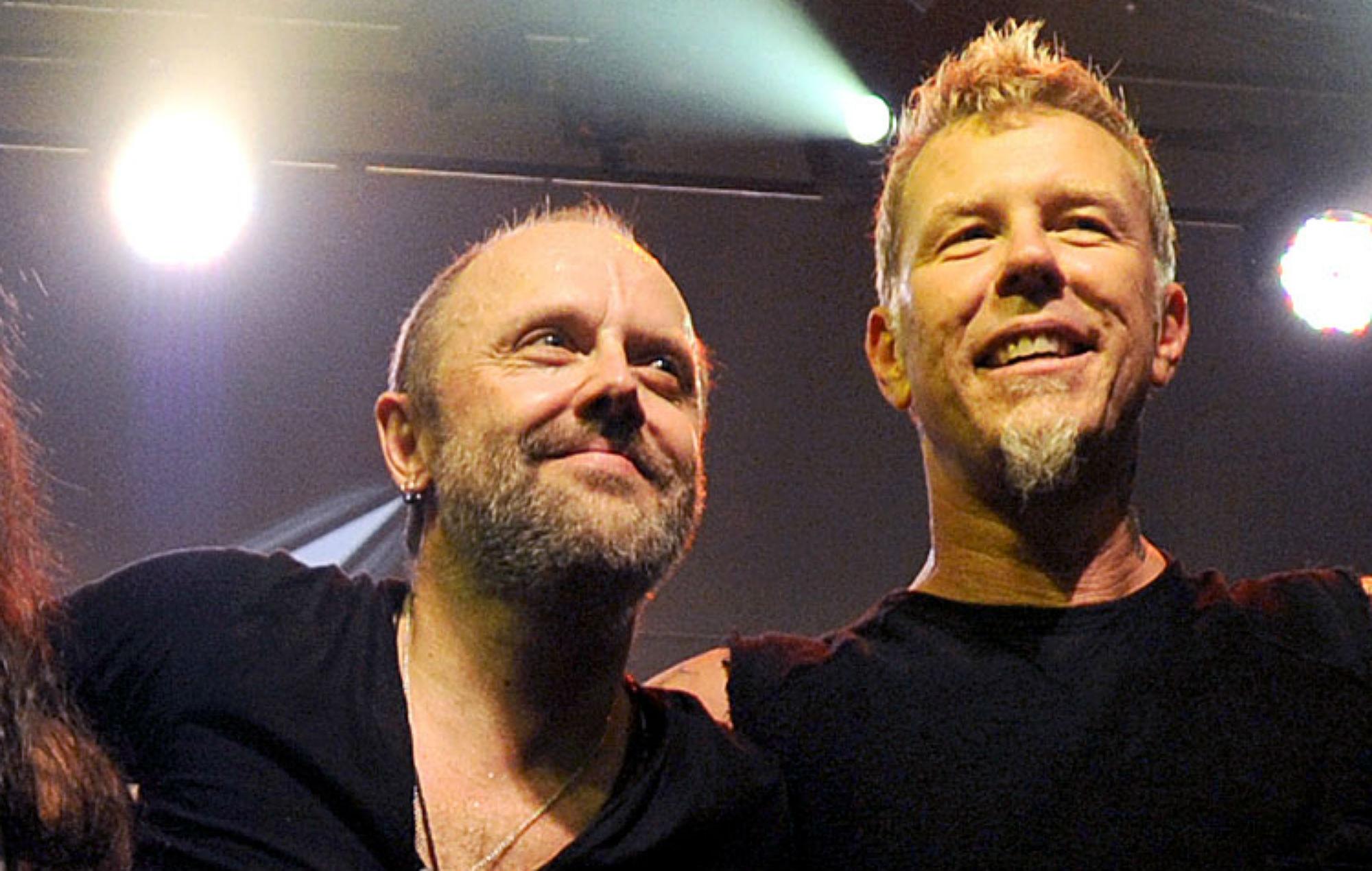 #Metallica, #Lars Ulrich, #James Hetfield, #long hair, #