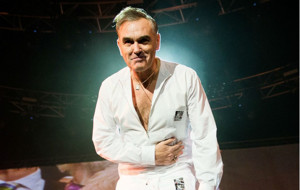 Morrissey has signed other artists' albums, and he's selling them