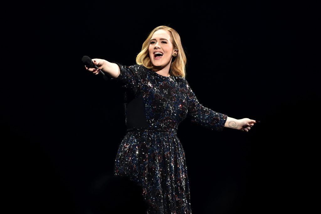 Adele has three albums in the Top 40 of best-selling albums of the 21st Century in the UK