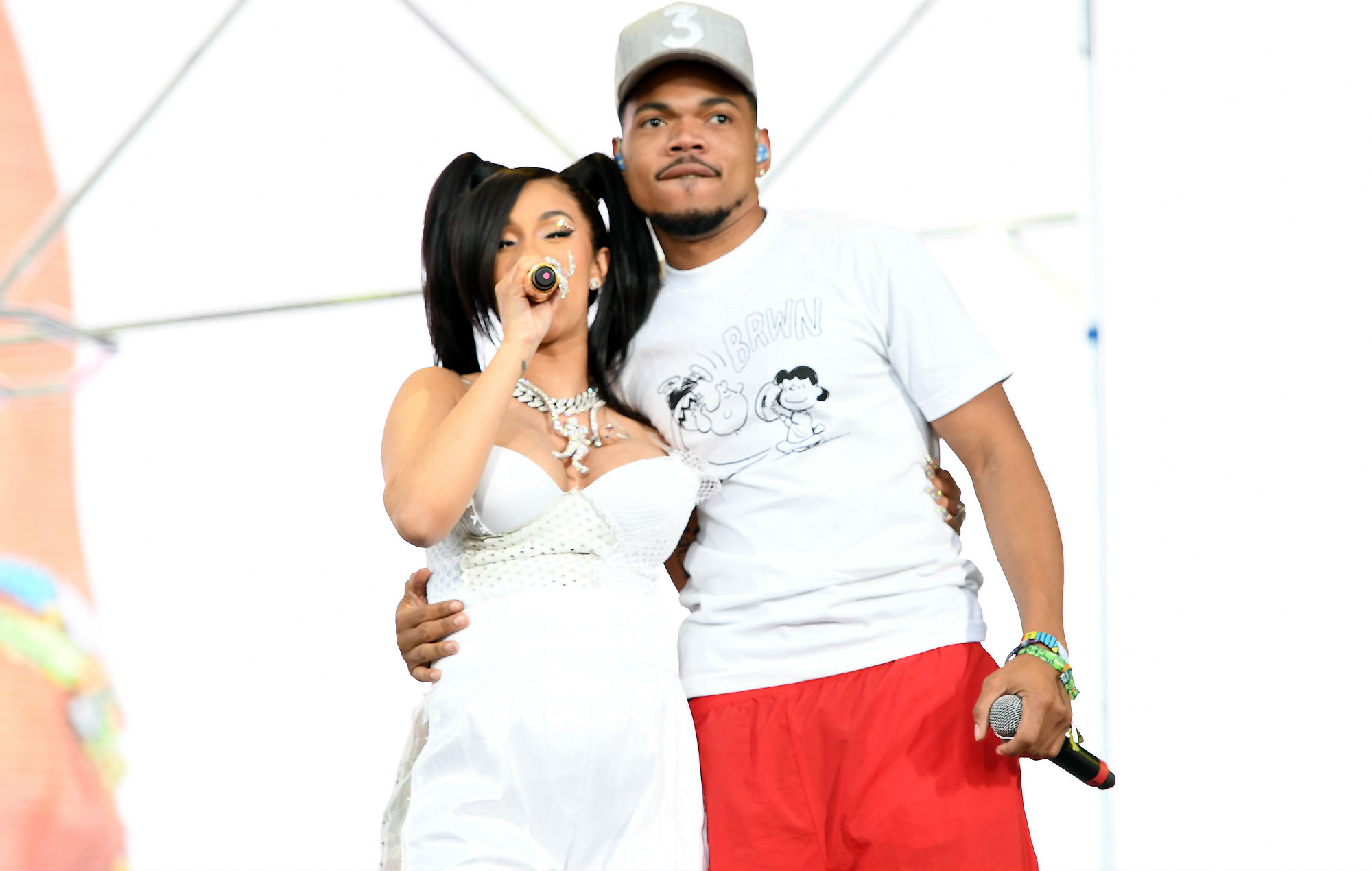 """Chance The Rapper and Cardi B warn that """"Trump is going to win again"""""""