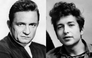 Johnny Cash Bob Dylan