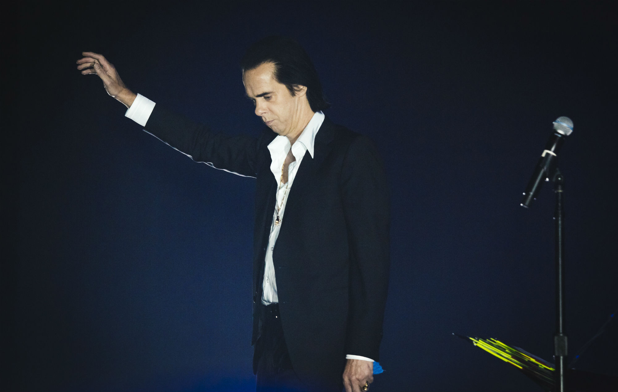 """Nick Cave calls 'Ghosteen' a """"haunted"""" album that's """"buoyed up by the absence of the ones we love"""""""