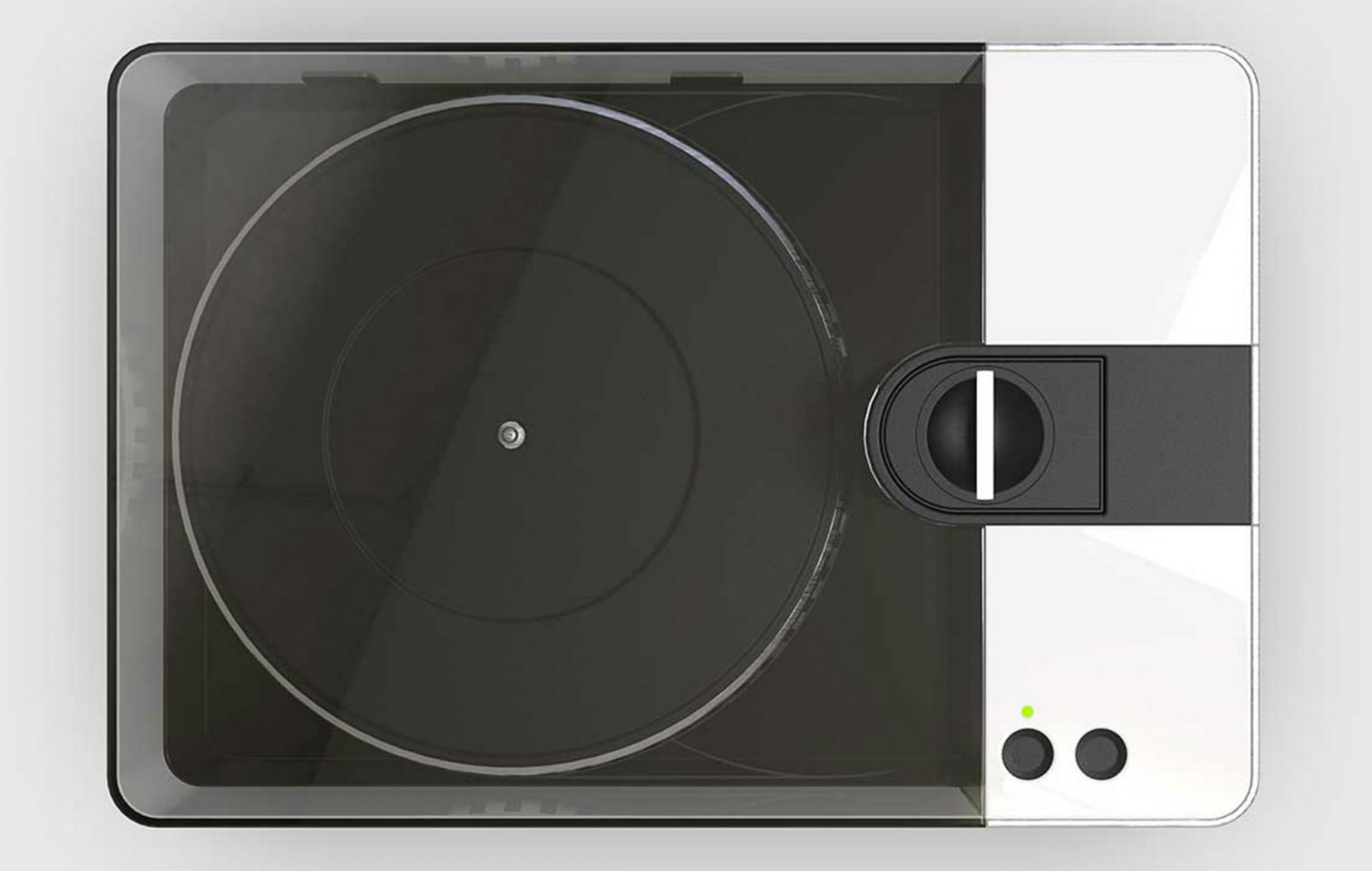 You can make your own vinyl records with this machine