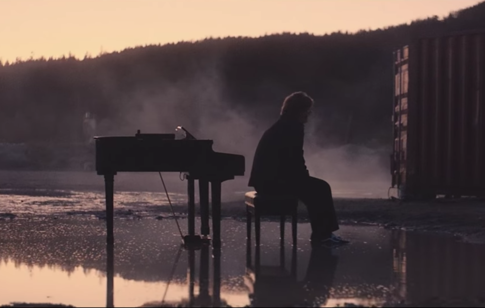 Watch Lewis Capaldi's fiery new 'Bruises' video