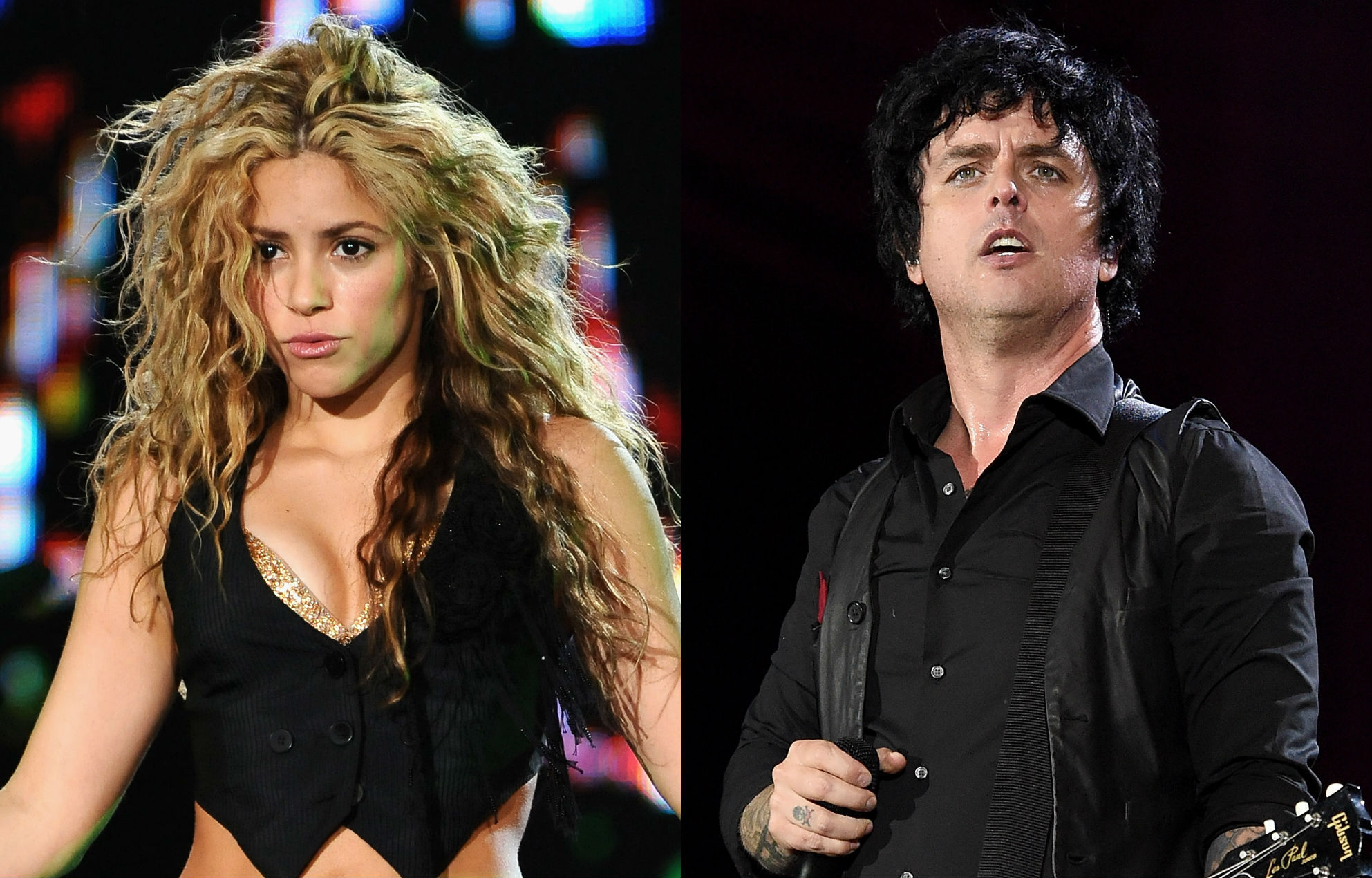 Green Day's Billie Joe Armstrong approves Shakira's 'Basket Case' cover