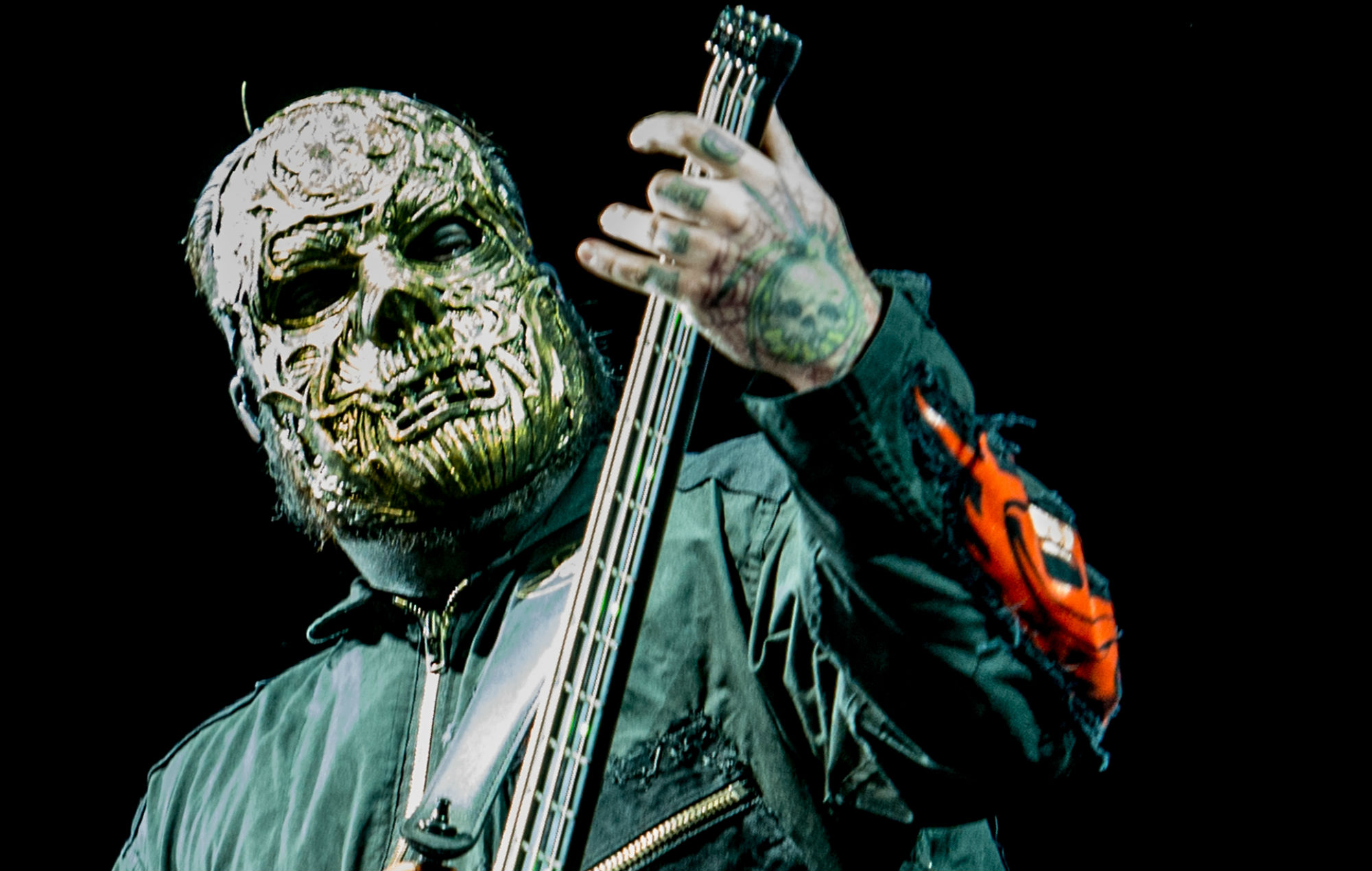 Alessandro 'VMan' Venturella reveals he wasn't even a bassist before joining Slipknot