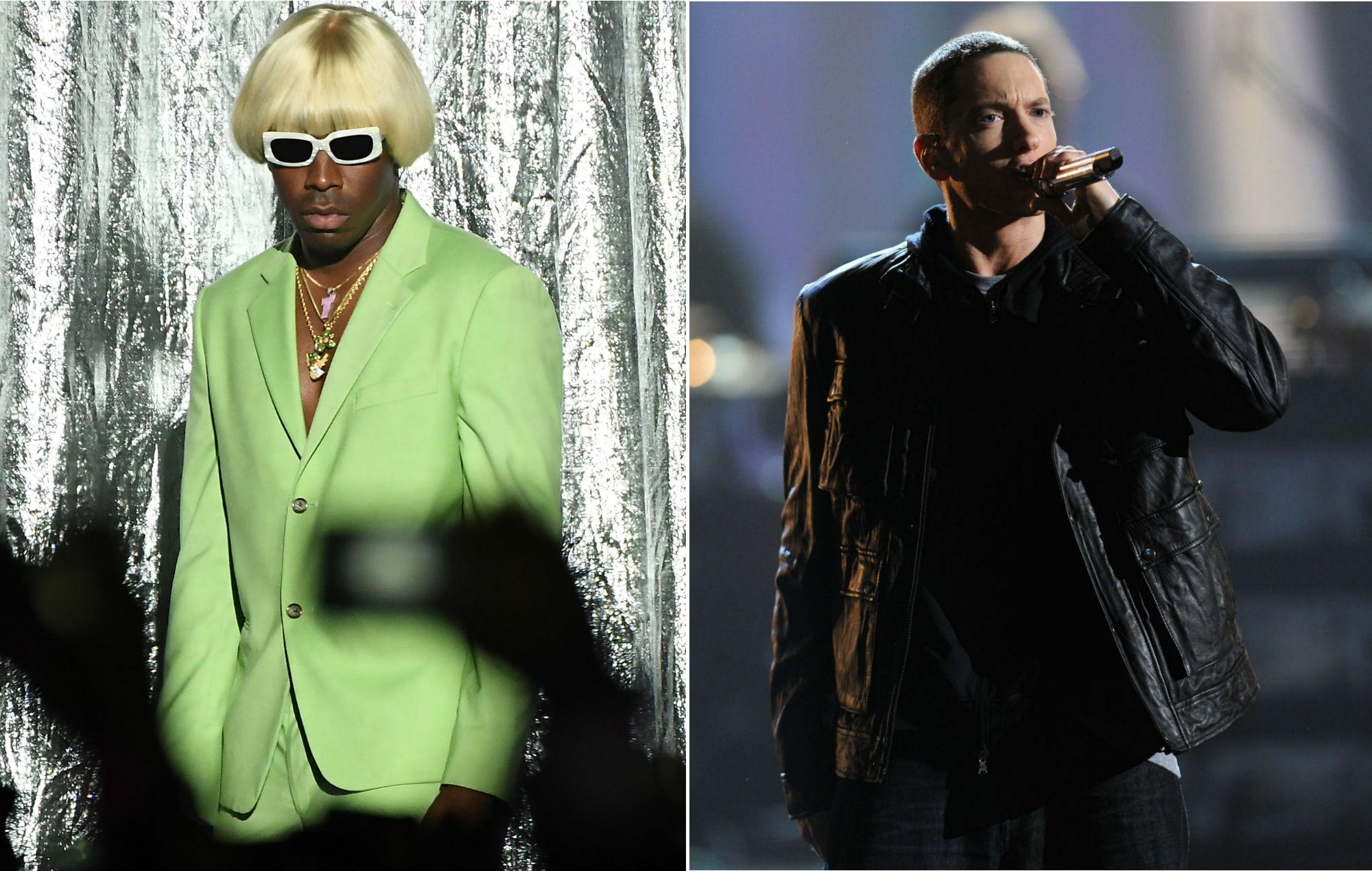 Tyler, The Creator breaks silence on Eminem's homophobic 'Kamikaze' slur